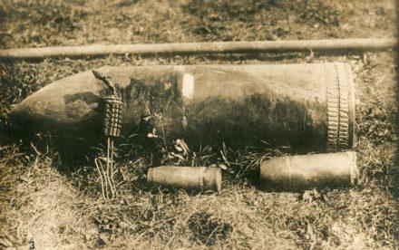 1921, bombe e candelotti di esplosivo ritrovati nel Perugino