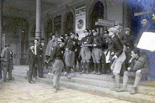 """1922, rubata la valigia del capo dei fascisti perugini con documenti della """"marcia su Roma"""""""