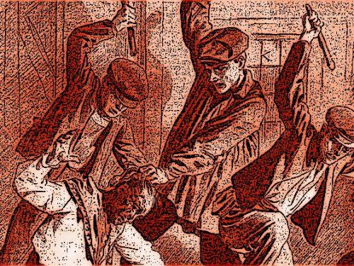 Perugia 1923, due falegnami bastonati e rapinati