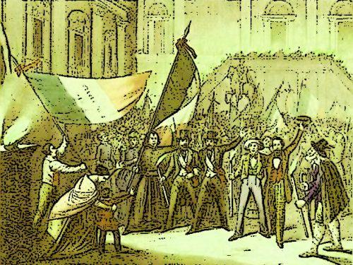 Orvieto 1849, grande festa in piazza: si vota per la Costituente Romana