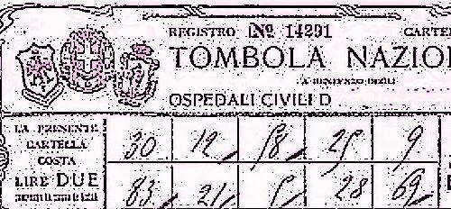 1910, dalla Tombola fondi agli ospedali di Terni e Città di Castello