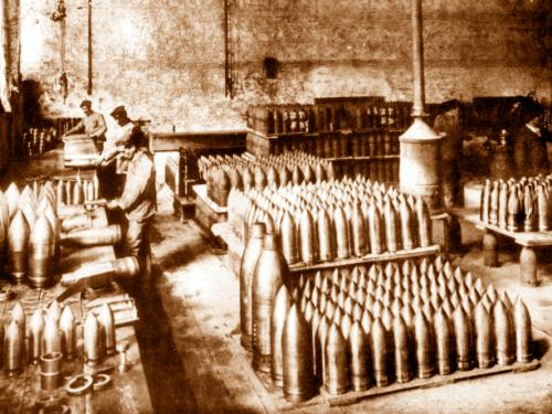 1914, la Terni cardine della produzione bellica  italiana